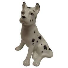 Erphila of Germany Harlequin Great Dane Figurine