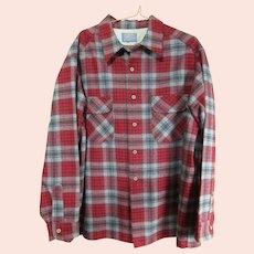 Pendleton Board Shirt Men's XL Current Size Weekend Shirt