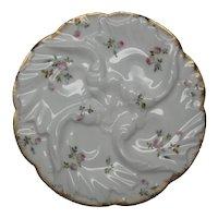 Antique Limoges Oyster Plate CFH GDM 1882-1890 Ladies