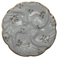 Antique Limoges Oyster Plate CFH GDM 1882-1890 Ladies
