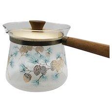 Vintage Coffee serving pot Pine Cone design