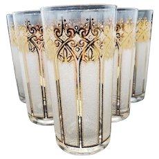 Mid-century highball Glasses by Pasinski