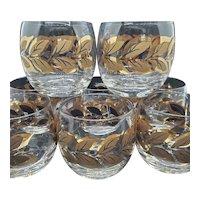 22k Laurel-leaf Roly-poly set & carrier