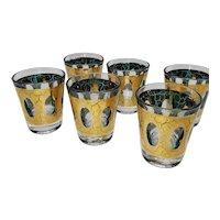 Culver Co. Pisa Pattern Shot Glasses