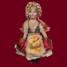 "10"" Vintage Hungarian Bride"