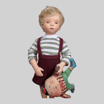 R. John Wright Child – Cole, With Humpty-Dumpty Toy