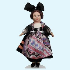 Norah Wellings Cloth Doll in French Costume