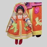 Lenci Mascotte Russian Girl 9 inches