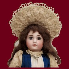 """13.5 """" Sonneberg Solid-domed Doll for the French Market"""