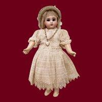 "9"" Sonneberg Bisque Head Jumeau look-alike Doll"