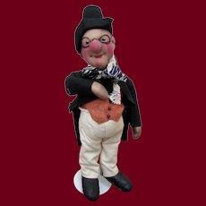 "12"" French stockinette character dolls ""Professeur Nurnberg"" by Bernard Ravca"