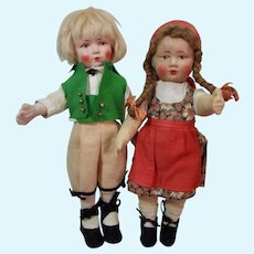 Bing Art Dolls, Boy and Girl