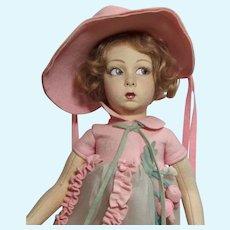 "16"".Lenci Felt Character Girl, Series 149"