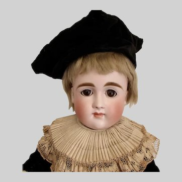 """18"""" German Bisque Closed Mouth Kestner Xi, Early Body (ON HOLD)"""