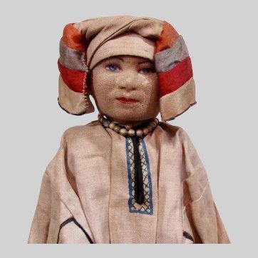 "Russian Cloth Doll 14"" ""Mordva Woman"""