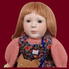 """Lynne & Michael Roche  Doll """"Polly"""""""