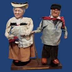 French Character dolls by Ravca-Grand