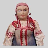 "Russian Cloth Doll 14"" ""Smolensk District Woman"""