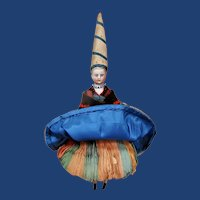 "12"" French Parian doll ""A Bonne Aventure"""