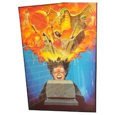 2 Original Period Computer Gaming Avalon Hill Illustrations by Jim Talbott Seminal PC Gamer Art