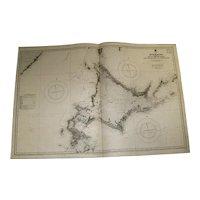 JAPAN, Hokkaido, 1926 edition sea chart