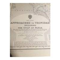 WEST INDIES, Approaches to Trinidad with Gulf of Paria, 1965 edition