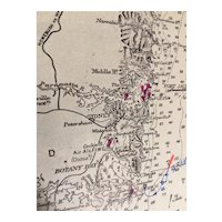 AUSTRALIA, from Gabo Island to Port Jackson (Sydney), 1888 edition sea chart