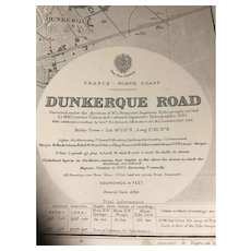 FRANCE, north coast - Dunkerque Road, 1923 edition