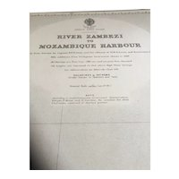 River Zambezi to Mozambique Harbour on Africa's east coast, 1938 edition