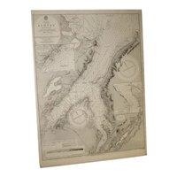 NORTH AMERICA, Cape Breton Island, Sydney Harbour, 1851 edition