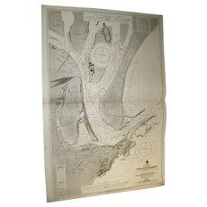 AUSTRALIA, east coast - Newcastle Harbour, 1921 edition