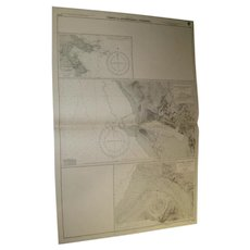 FORMOSA, Ports & Anchorages, 1954 edition sea chart