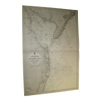 USA, east coast - Approaches to Delaware River, 1961 edition