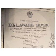 USA, east coast - Delaware River, 1947 edition