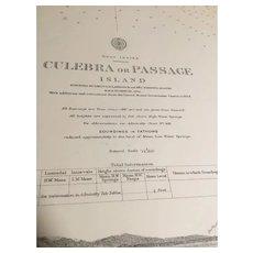 WEST INDIES, Culebra or Passage Island, 1914 edition