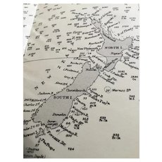 The Pacific Ocean, 1931 edition - A vintage British Admiralty navigation chart