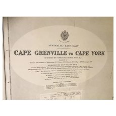 AUSTRALIA, east coast - Cape Grenville to Cape York, 1922 edition