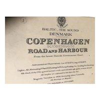 DENMARK, Copenhagen Road & Harbour, 1901 edition