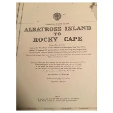 Tasmania, Albatross Island to Rocky Cape, 1920 edition