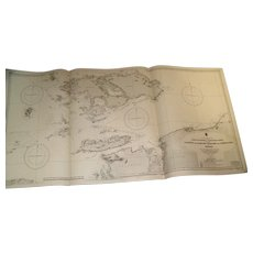 NEW GUINEA, north west coast, 1932 edition sea chart