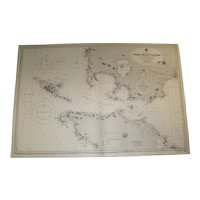 PHILIPPINE ISLANDS, Verde Island Passage, 1937 edition chart