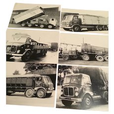 British Trucks from the 1960's, Vintage Photos