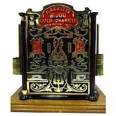 English Garrett Gold Coin Changer Circa 1880