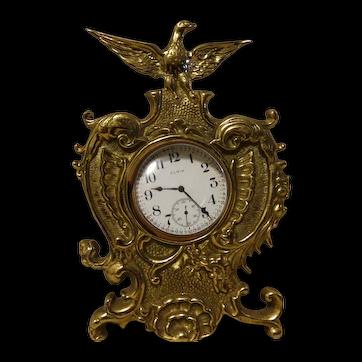 1920's Eagle Pocket Watch Holder