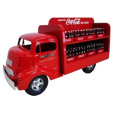 SMith Miller Red Coca-Cola Delivery Truck with Coke Bottles