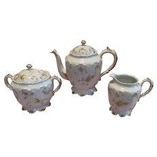 Haviland Limoges 17 Piece Tea Set