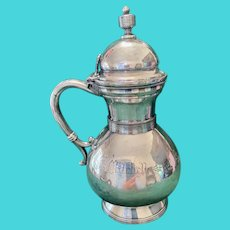Antique Silver Syrup Pitcher