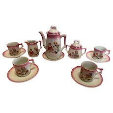 Antique Child's German Tea Set