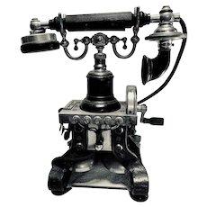Antique Eiffel Tower Telephone Circa 1890