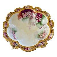 Hand Painted Decorative GDA Haviland French Bowl Circa 1898